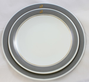Kahla Breakfast Plate 21.5cm - Grey
