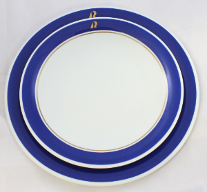 Kahla Breakfast Plate 21.5cm - Navy